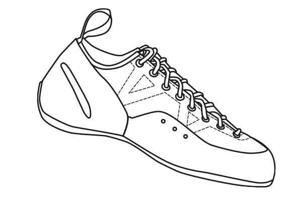 chausson lacet eb torch lace