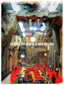 salle escalade le mur de Lyon