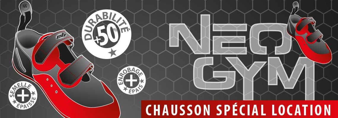 Neo gym chausson escalade speciale pour salle