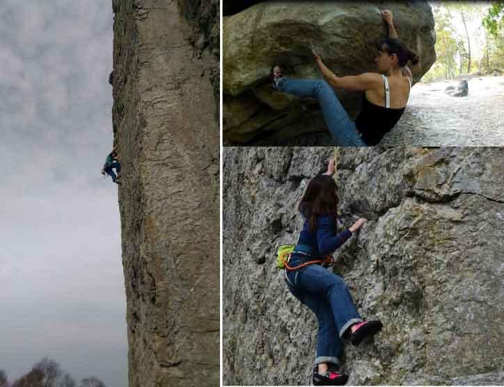 grimpeur passionnés