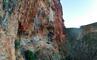 rocher ocre mars