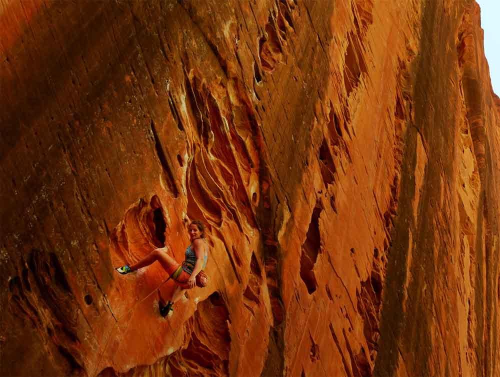L'incroyable Namasté Wall, à Kolob Canyon, Zion.