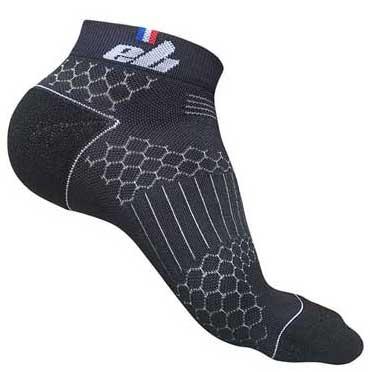 chaussette sport avec fil d'argent