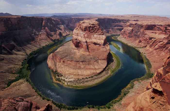 site du fer a cheval Lake Powell