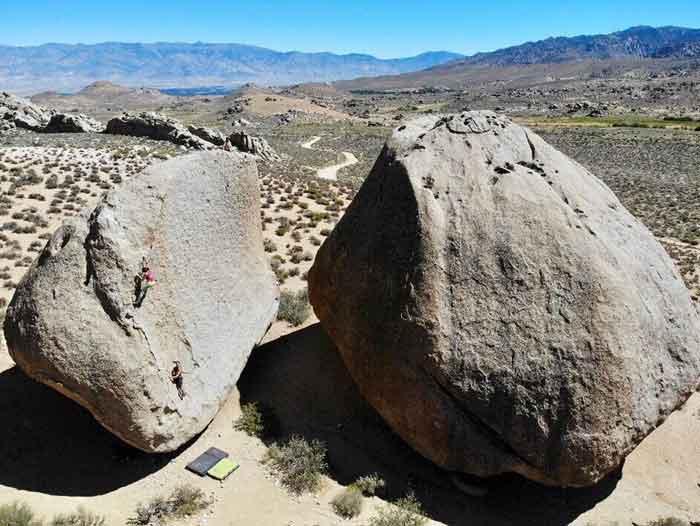 Grandma Peabody boulder