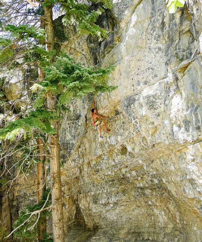 Mika dans Hell, 8a , American Fork