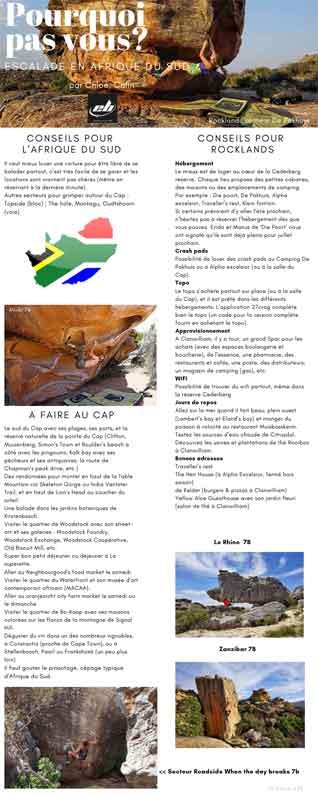 grimper en afrique du sud conseils et infos