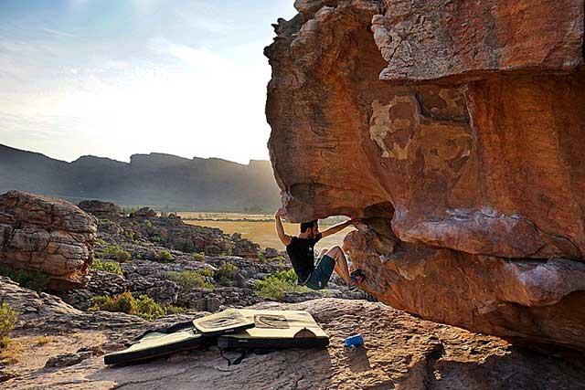 Blocs rocklands Afrique du Sud