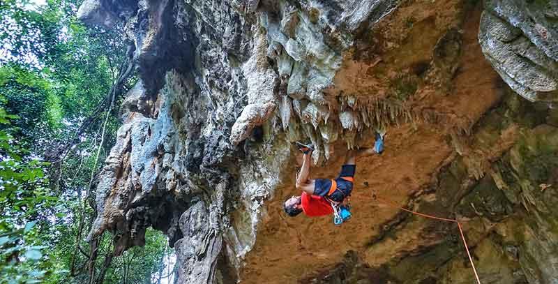 colos de la vallée des Perroquets