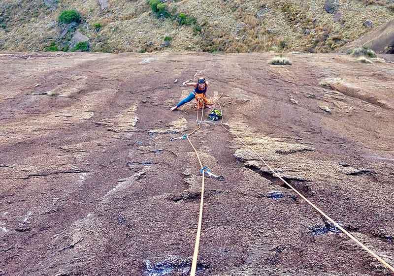 escalade sur granite malgache