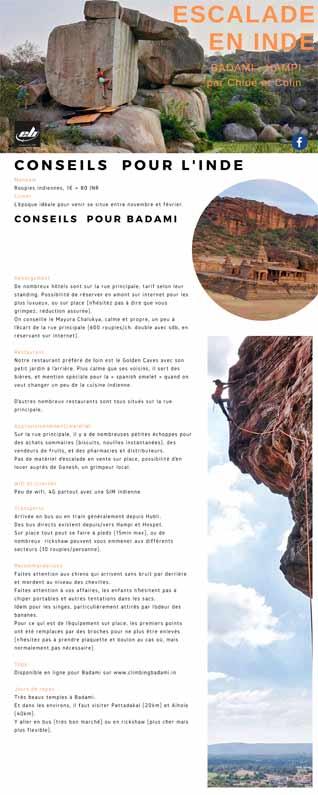 conseils pour aller grimper en inde