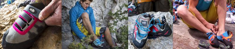 meilleur serrage pour vos chaussons d'escalade