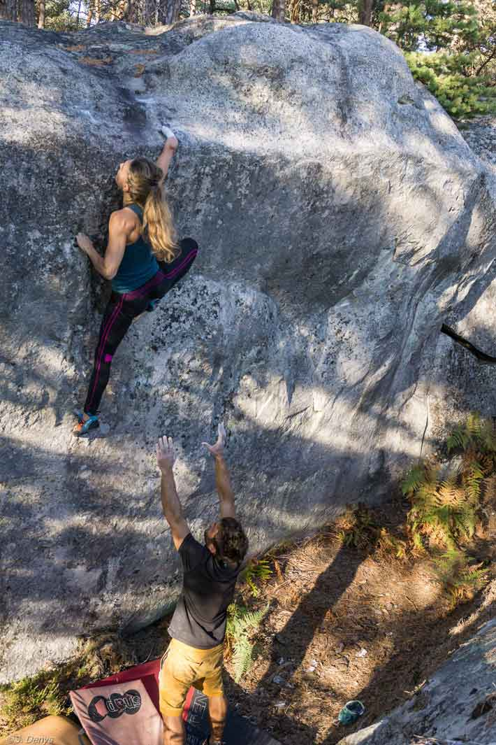 Solenne Piret à Fontainebleau