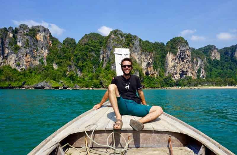decouverte falaise de tonsai en thailande