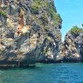 Deep water mer d'Andaman