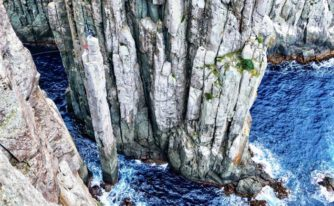 Au sommet du Totem Pole ©Nick Greenwel
