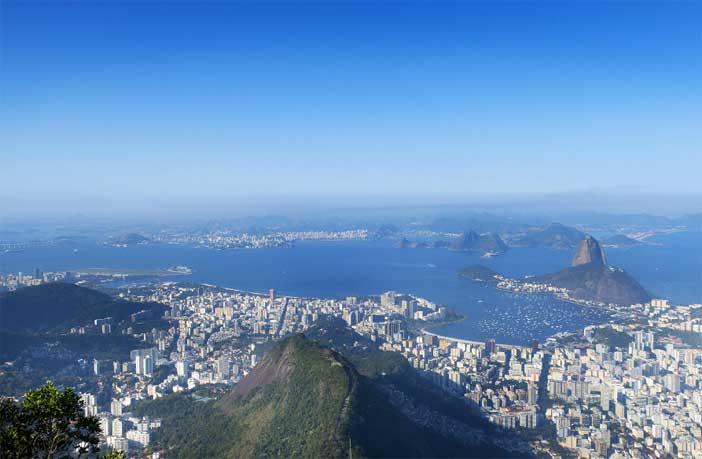 Rio de Janeiro ville de grimpe
