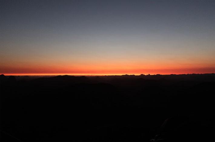 coucher soleil pedra riscarda