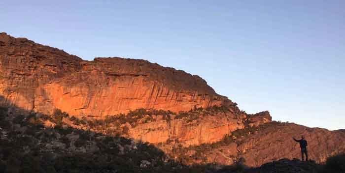 Taipan Wall falaise australienne