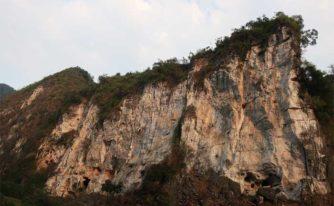 La falaise de Dragon Wall, nouvellement équipée