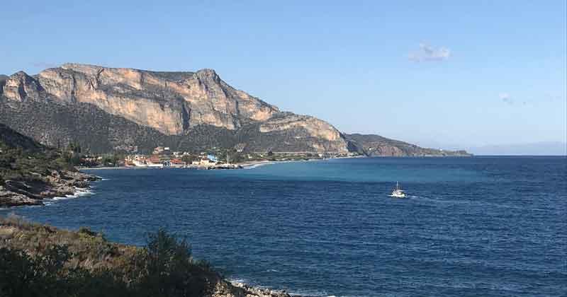 plage de Leonidio