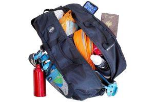 sac pour l'ecole et la grimpe